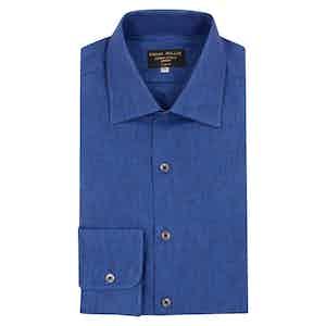 Sapphire Linen Shirt