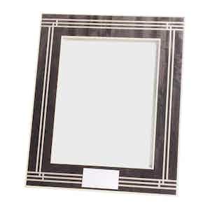 Neutral Geometric Triangle 8x10 Frame