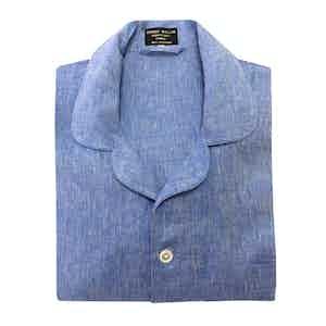 Gesso Blue Linen Pyjamas