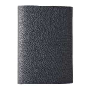 Marine Blue Bullskin GMT Passport Case