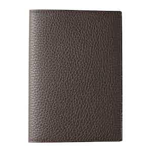 Espresso Brown Bullskin GMT Passport Case