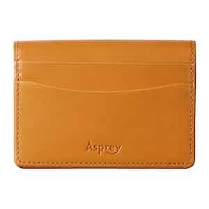 Cinnamon Brown Saddle Leather Hanover Card Slip Case