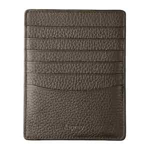 Carbon Grey Bullskin GMT Card Sleeve