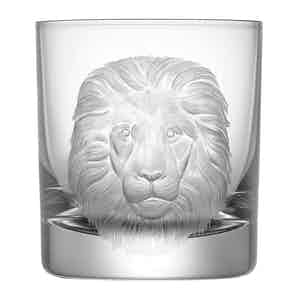 Neutral Lead Free Crystal Lion Crystal 300mL Tumbler