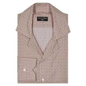 Angelo Inglese for RTG Pink Fantasy Camp Collar Shirt