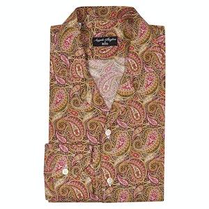Angelo Inglese for RTG Muli-Coloured Fantasy Camp Collar Shirt