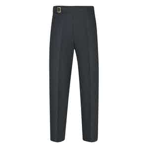 Blue Linen Genny Trousers