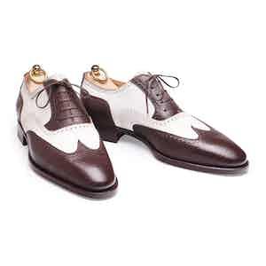 Brown Fjord Calf Spectator Shoe