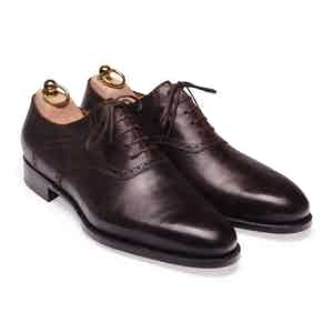 Brown Horsefront Saddle Oxford Shoe
