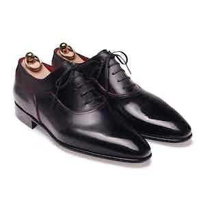 Black Box Calf Balmoral Oxford Shoe
