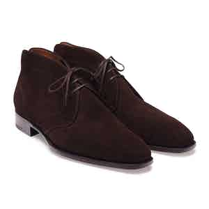 Brown Janus Suede Chukka Boot