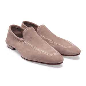 Dust Pink Reverse Unlined Loafer