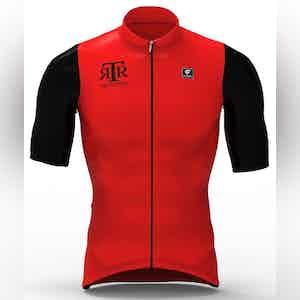 The Rake Riders Sbagliato Red Cycling Club Top