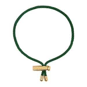 Green Nylon String Bracelet