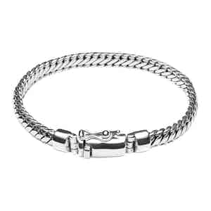 Silver Thin Chain Bracelet