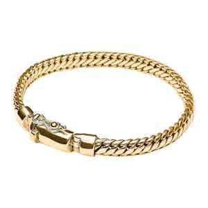 Thin Gold Chain Bracelet