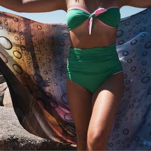 Lumio Drops Granite Island X Tara Matthews Sarong