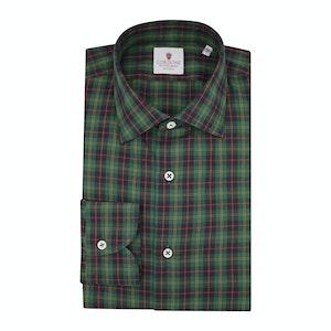 Green Flannel Grand Tartan Shirt