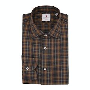 Brown Flannel Grand Tartan Shirt