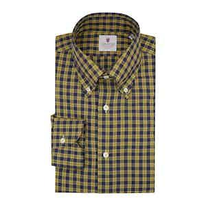 Yellow Flannel Tartan Shirt