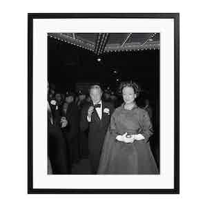 The Duke and Duchess of Windsor Black and White Print