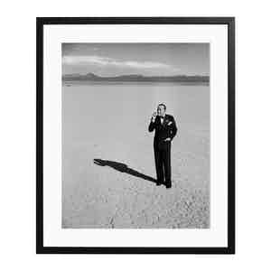 Noel Coward Black and White Print