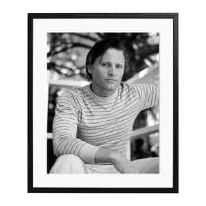 Viggo Mortensen 1997 Black and White Print