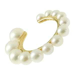 Yellow Pearl Clip