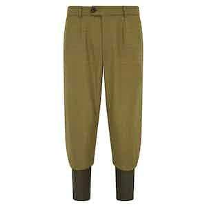 Green Wool Tweed Breeks - Storm Cuff