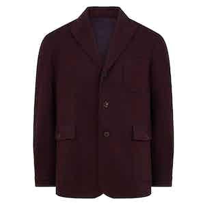 Purple Cashmere Teba Jacket