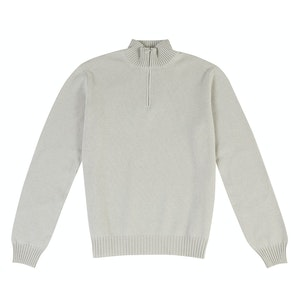 Beige Cashmere Tracksuit Sweater