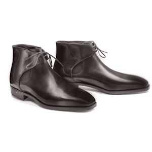 Grey Calf Leather Decon Chelsea Boot