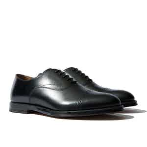 Beaumont Black Leather Oxford Shoes
