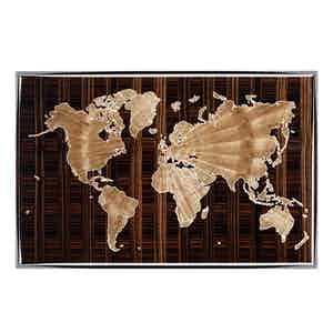 World Map Humidor