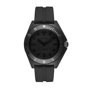 Monochrome Black Steel Mayfair Watch
