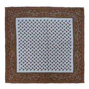 Light Blue Soave Silk Pocket Square