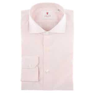 Venice Red Cotton Poplin Shirt