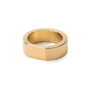 Brass Bacchus Ring