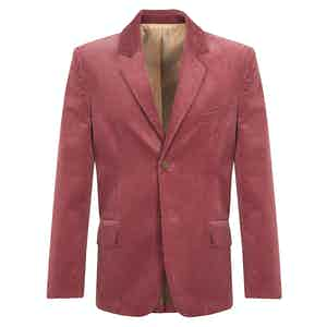 Straw Pink Corduroy Connacht Jacket