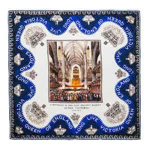 Long Live Victoria! Silk Pocket Square