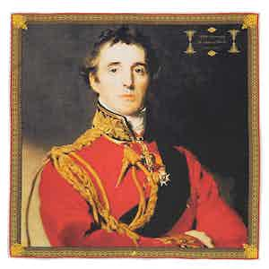 The 200th Anniversary Of The Battle Of Waterloo Duke Of Wellington Silk Pocket Square