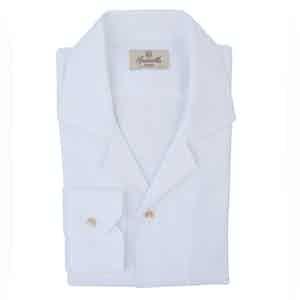 White Anema E Core Oxford Shirt