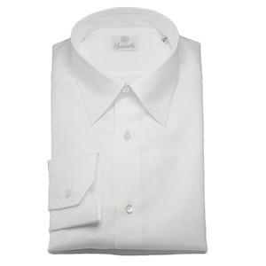 White Espresso Cotton Shirt