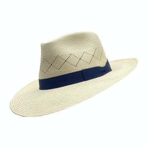 Savannah White Toquilla Palm Straw Hat