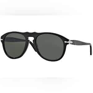 Icons PO0649 95/31 Black with Grey Lenses Sunglasses