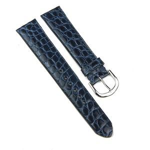 Navy Blue Classic Alligator Watch Strap