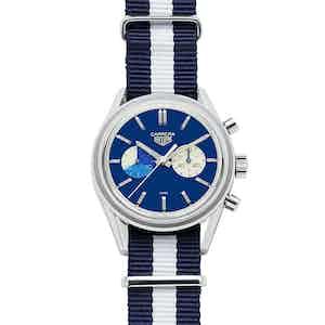 "Carrera Chronograph ""Blue Dreamer"", TAG Heuer x The Rake & Revolution"