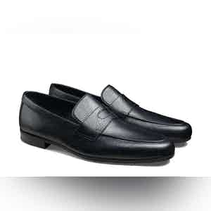 Black Thorne Loafers