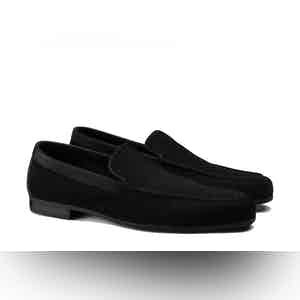 Black Tyne Loafers