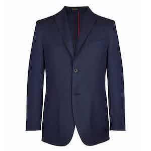 Navy Wool Unlined Blazer